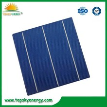 A grade 3bb polycrystalline pv/silicon solar cell price made in Taiwan