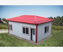 commercial for quality with labor living prefab house