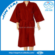2015 red color Kimono Gown for hospital
