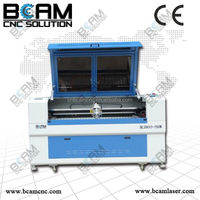 laser cut business card metal and non-metal co2 laser cutting machine for sale with CE BCJ9013-260W