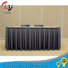 Manufacturer polyester table skirt