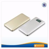 AWC238 10000mah power bank lcd cell phone super charger power pack battery