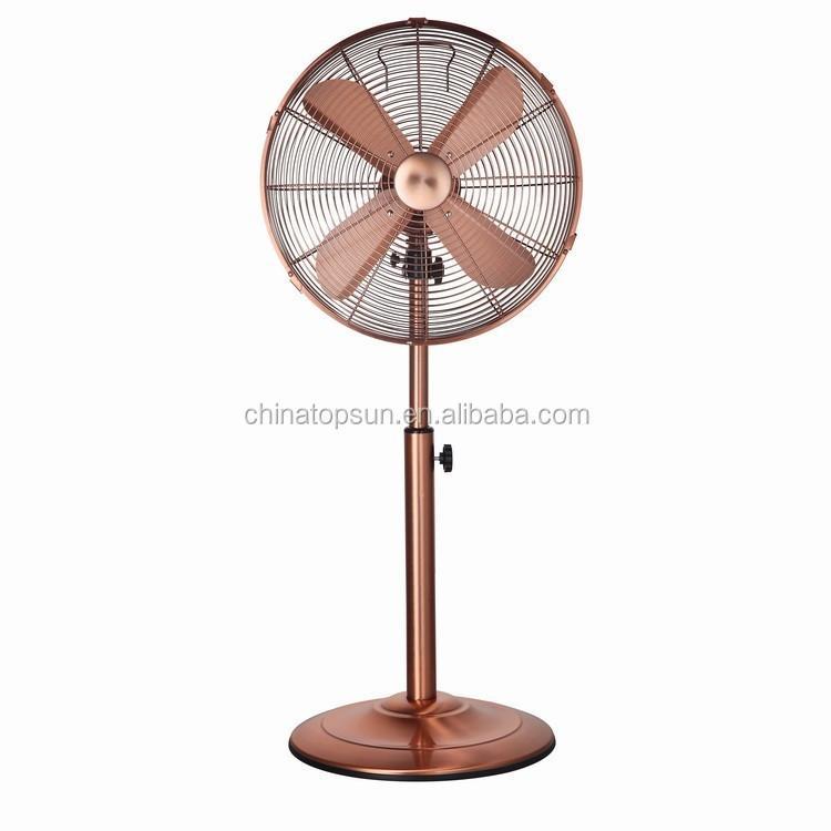 35cm 14 Inch Oem Metal Copper Electric Stand Fan - Buy ...
