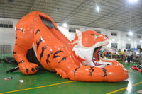 Tiger Inflatable Slide For Kids And Adult