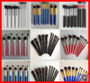 Black Friday 10pcs Hot selling synthetic hair makeup brushes with white handle make up brush high quality