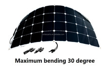 100W flexiable solar panel sunpower cell PV solar panel 21% High efficiency