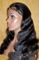 Elegant-wig brazilian body wave full lace wig, cheap lace front wig with baby hair top quality