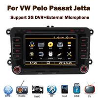 3G internet support for VW Polo Golf Touran Jetta Tiguan dvd player