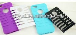 """New design skeleton type case for iphone 5,for iphone""""5 case,2 in1 PC+TPU case"""