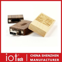 Promotional Gift Wooden USB Pen Drive 8GB