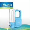 LONEN 2 in 1 super bright plastic outdoor camping torch light rechargeable lantern