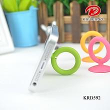 KAREADO 2015 mobile phone accessories ring shape plastic holder desktop phone stand