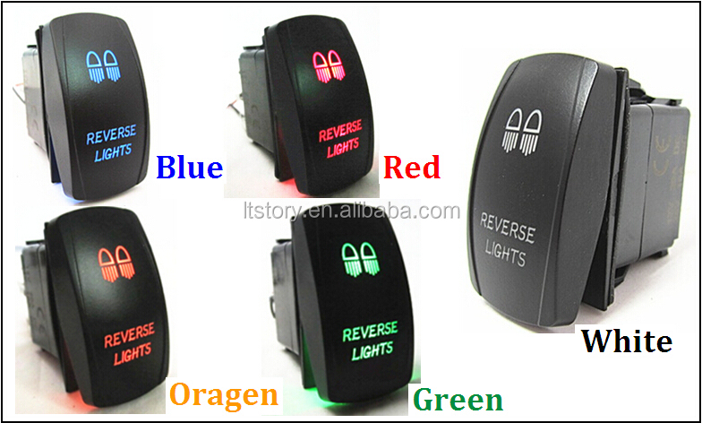 carling technologies rocker switch with double color led