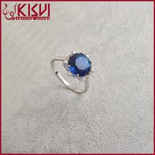 925 sterling silver gold jewelry jewellery turkish batu permata blue safir 0086 ring kinky curly micro ring extensions