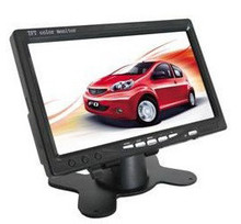 Hot selling digital widescreen12V 24V car DC powered 7 inch tft lcd monitor