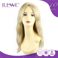 Exquisite Advantage Price 100% Real Wholesale Blonde Full Lace Human Wig From China