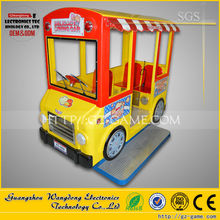 2015 Hot sale coin operated kiddie ride/School bus used coin acceptor for children