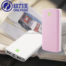 2015 Wholesale Power Bank Battery 8000mAh Portable USB Charger for Microsoft