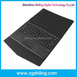 SL-W102 Tablet PC Leather Bluetooth Keyboard Connector Touch Pad Keyboard