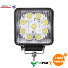 Best Price 5 inch 27W Off Road LED Light 6000K Color Temperature On Bumper Bar Motorcycle HD0727
