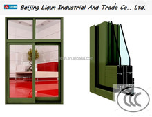 2015 free samples aluminum profile sliding windows sliding window designs modern window grill design