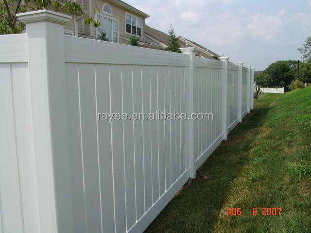 6ft x 8ft movable fencing panels plastic panels for - Vallas jardin pvc ...