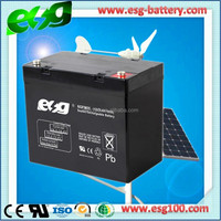 Sealed Lead Acid Battery12V 55AH AGM Storage Battery UPS Vrla Battery