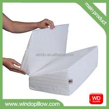 Wedge Folded pillow,Back Memory Foam Pillow