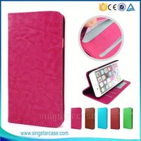 New Products ID Card Slots With Stand Flip Leather Wallet Case Cover for Archos 45 B Helium 4G