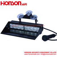 Amber Blue LED Warning Visor Windshield Emergency Light for Vehicle HV-281