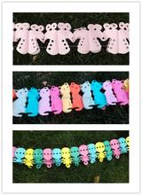 baby shower birthday party decoration tissue paper garland