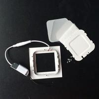 SPL150 series jinlong downlight led 9w 150x150mm