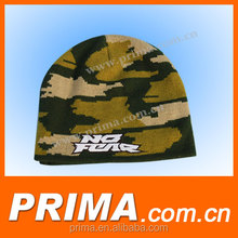 Cotton/ Wool Camouflage Man/ Lady Kintted Hat