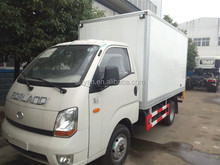 Foton forland K1 refrigerated truck,digital mobile billboard truck for sale,panel van