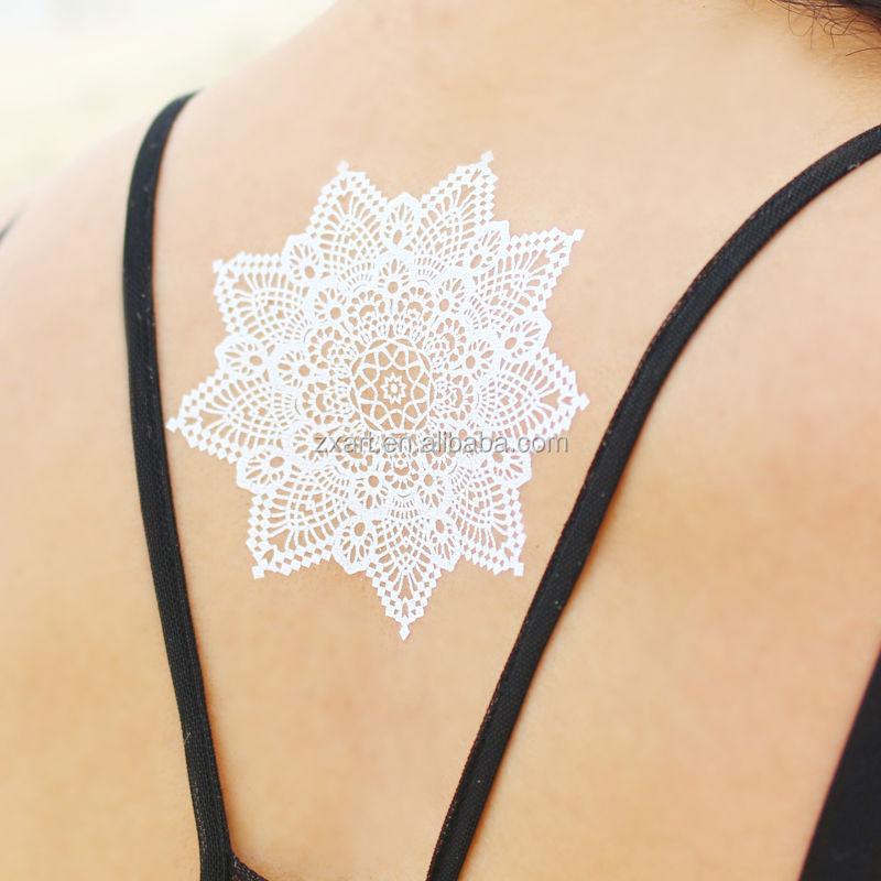 metallic tattoo sticker (127)