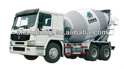 China Brand New 6~8m3 Concrete Mixer Truck for Sale