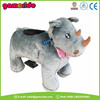 AT0627 latest amusement riding equipment coin operated Ride On motorized animal battery plush Car in China