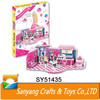 Playing house set education toys 3D puzzle for girl