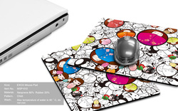 EXCO Top Quality Cheap Rubber Custom Mouse Pad,Gaming Mouse Pad,Gel Silicone anime Mouse