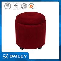 Lightweight Custom-Made Comfortable Sheepskin Round Seat Cushion