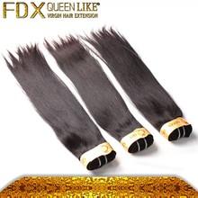 Hair extension hanger bags straight brazilian hair