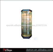 Nuevo diseño de suelo vitrina de acrílico