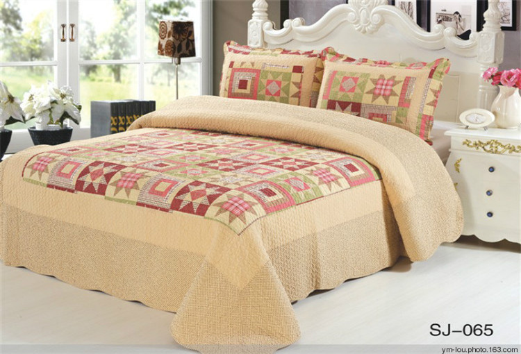 High Quality Blue Wholesale 100% Cotton Printed Design Your Own Bed Sheet