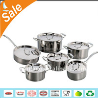 JINJIANG wholesale 12pcs stainless steel kitchen ware