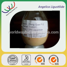 Factory price high quality Dong Quai P.E./ angelica root extract with 1% Ligustilide by HPLC