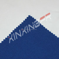 hot sale Cotton and polyester pu coating fabric for refusing burning and water repellent