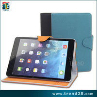 new products 2016 flip wallet leather case for ipad mini2 with stand