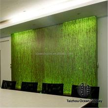 Haute qualité rigide en plastique panneaux décorative acrylique panneau mural