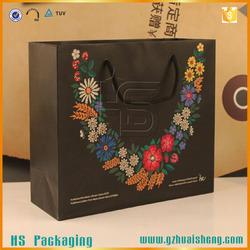TOP SALE CUSTOMIZED PAPER GIFT BAG/GOOD QULAITY PAPER SHOPPING BAG