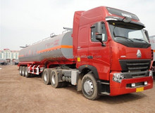 oil tanker trailer head 10000gallons fuel tank 40000L for Swaziland